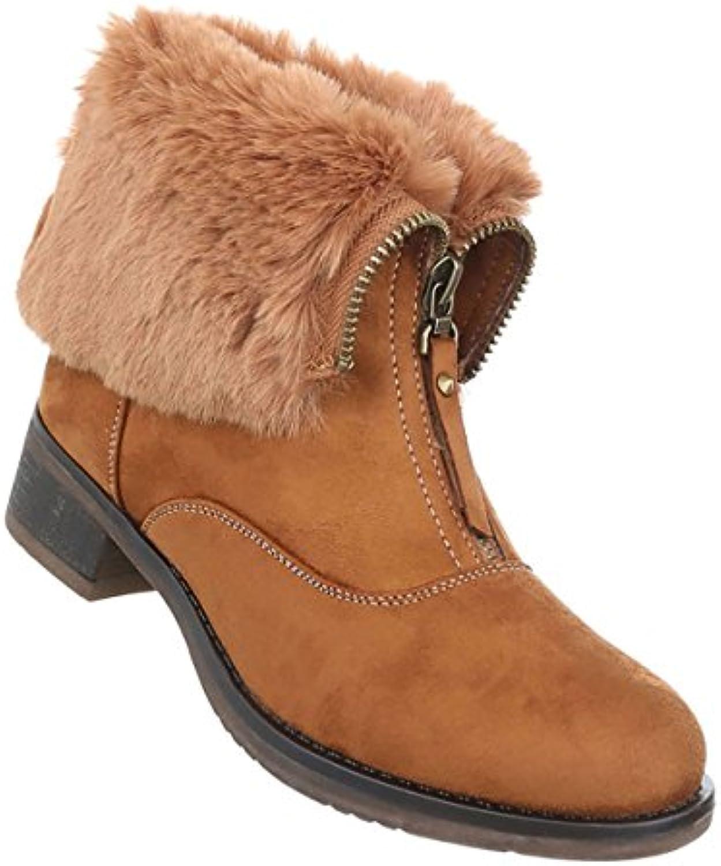 Damen Schuhe Stiefeletten Gefütterte Boots  2018 Letztes Modell  Mode Schuhe Billig Online-Verkauf
