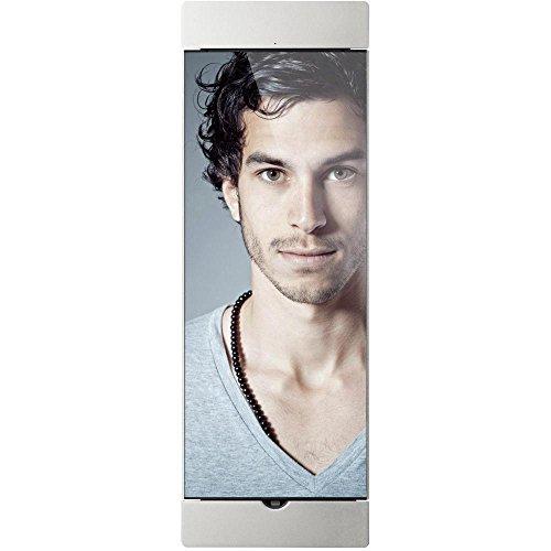 Dock Pro Silber - abschließbare, UM 90° Drehbare Wandhalterung, Ladestation, Fotorahmen für Apple iPad Pro Apple Pro 12, 9