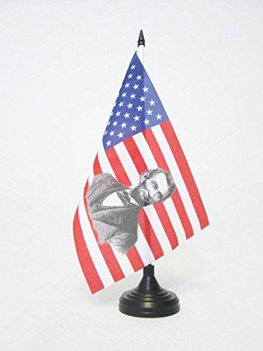 bandiera-da-tavolo-stati-uniti-con-abraham-lincoln-21x14cm-piccola-bandierina-americana-usa-14-x-21-