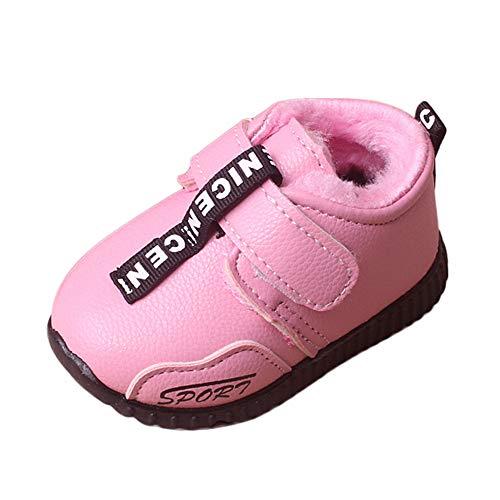 Beikoard Baby Kleinkind Schuhe Winter Kinder Plus Samt Pelz warme Schnee Stiefel Kurze Stiefel aus Baumwolle Schuhe Sportschuhe gefütterte weiche Winterschuhe