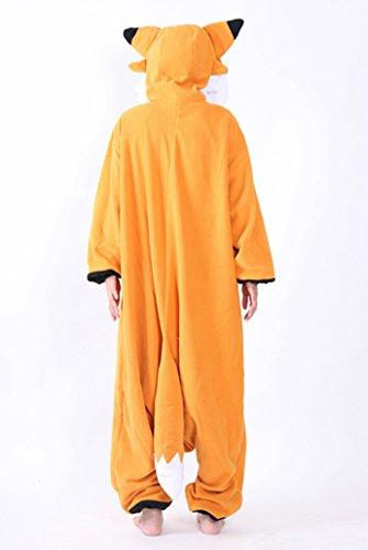 Imagen de dato ropa de dormir pijama zorro cosplay disfraz animal unisexo adulto alternativa