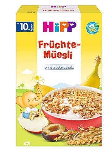 HiPP Bio-/Früchte-Müesli, 1er Pack (1 x 200 g)