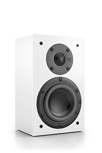 Nubert nuBox WS-103 Wandlautsprecher 2-Wege (12,0 cm Tief-/Mitteltöner, 1,9 cm Hochtöner, 80/120 Watt, 95-27000 Hz), Stück, Weiß/Weiß