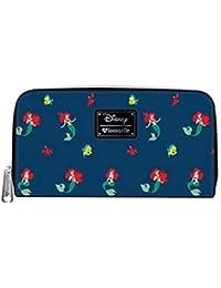 75c8f94a619 Loungefly x Disney Ariel Flounder and Sebastian Little Mermaid Wallet