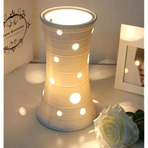 Dormitorio minimalista sala de estar dormitorio cama cerámica florero creativa decoración estudio moderno lámpara de mesa