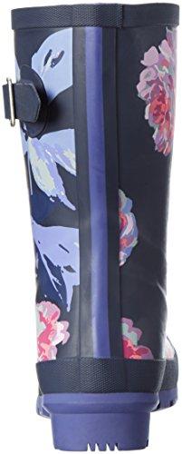 Tom Joule Mollywelly, Stivali di Gomma Donna Blau (french Navy Beau Bloom)