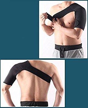 exoh verstellbar linke Schulter Stütze Basketball Warm Schulter Displayschutzfolie