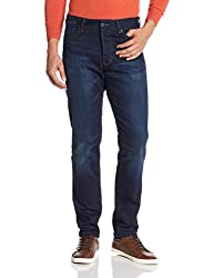 Superdry Mens Slim Fit Jeans (5054265625480_M70003JNF2_32W x 32L_Blue Blue)