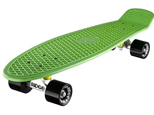 Ridge Skateboard Big Brother Nickel 69 cm Mini Cruiser, grün/schwarz