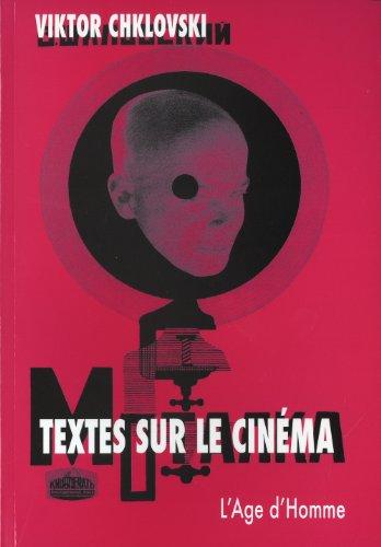 Textes sur le cinéma