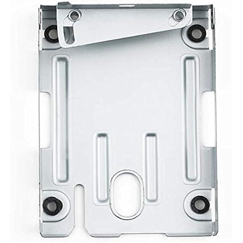 2,5pulgadas unidad de disco duro de 2,5pulgadas HDD Soporte de montaje Caddy para Sony PlayStation 3PS3Super Slim CECH-400x