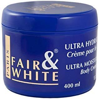 Fair & White Ultra Moisturising Body Cream Blue Jar - Ultra Moisturizing Body Cream
