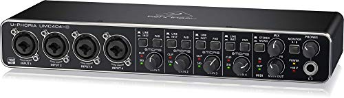 "Behringer UMC404HD U-Phoria USB Audio und""MIDI"" Interface"