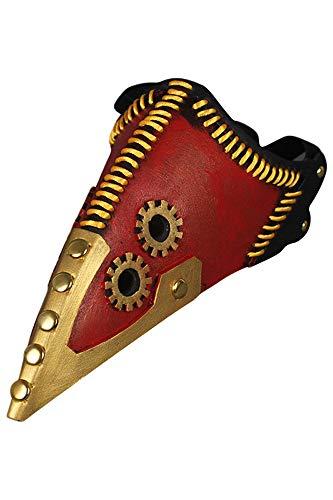 Raven Mund Cosplay Latex Maske