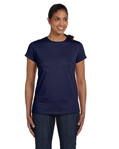 Dungeon Master auf American Apparel Fine Jersey Shirt Blau - navy