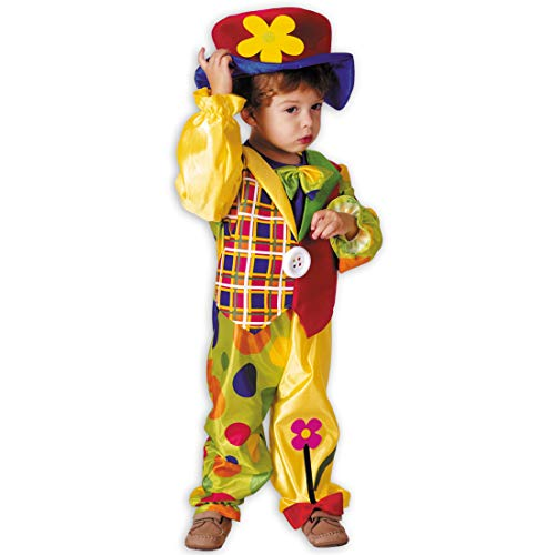 Adorable traje infantil de payaso | Colorido en talla 3 - 4...