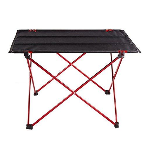 Leichte Camping Klapptisch, Portable Picknicktisch Falten Aufrollen Tische mit Tragetasche für...
