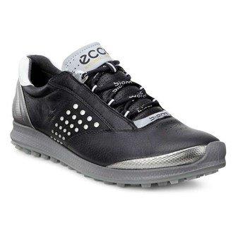 Ecco Biom Golf Hybrid 2, Damen Schuhe, schwarz/silber, Euro 41 (UK 7.5) - Golf Ecco Hybrid Biom