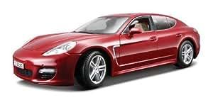 Maisto - 36197BL - Véhicule Miniature - Modèle À L'échelle - Porsche Panamera Turbo - Echelle 1/18 Rouge