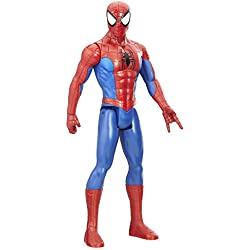 Marvel Spiderman - Titan Hero Series Spider-Man, única (Hasbro E0649EU4)