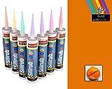 Naranja Sellante de Silicona Color Ral 2000 (Naranja Amarillo) 310ml
