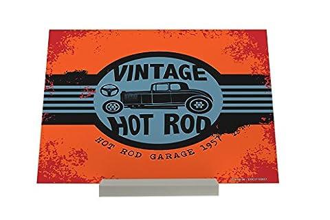 Art Print Cadre Photo Vintage Car Vintage Hot Rod Piastra Composite Rétro