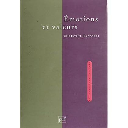 Émotions et Valeurs (Philosophie morale)