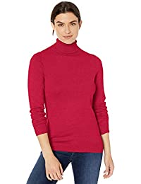 Amazon Essentials Lightweight Turtleneck Sweater Donna