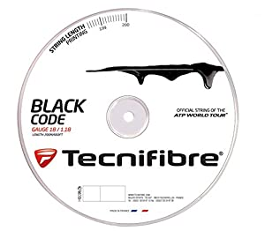 Tecnifibre - black Code - 200m - 1,28 mm Review 2018 by Tecnifibre