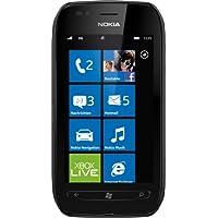 """Nokia Lumia 710 - Smartphone libre (pantalla táctil de 3,7"""" 800 x 480, cámara 5 MP, procesador de 1.4 GHz, S.O. Windows), negro [importado de Alemania]"""