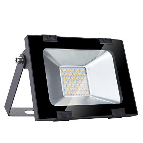 Yuanline Focos LED Exterior Blanco Cálido 30W 3000LM