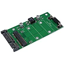 "SXIESI mSATA a 2,5"" 7+15Pin SATA adaptador convertidor tarjeta para 7 cm mSATA SSD"
