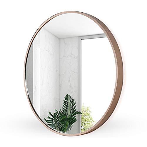 Espejo de baño, espejo de tocador redondo, dormitorio, baño, espejo de...