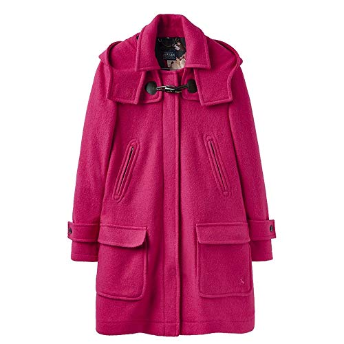 Joules Womens Woolsdale Double Faced Wool Blend Duffle Coat Wool Blend Duffle