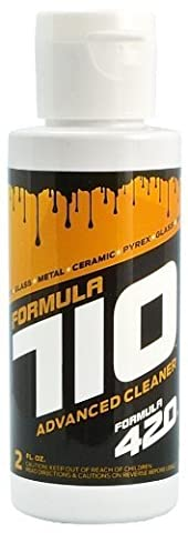 Formula 710 Advanced Cleaner Safe On Pyrex, Glass, Metal, and Ceramic by Formula 420 - Assorted Sizes (2oz - Extra Small) by Formula 409