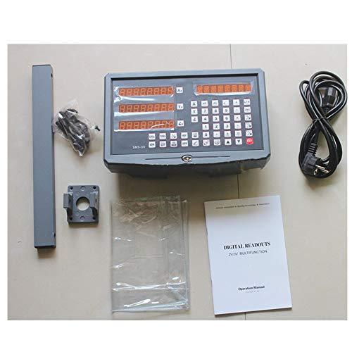 3-Achs-Digitalanzeige mit 3 linearen Skalenwegen 150-1020mm für Fräsdrehmaschine Dro Display Komplettgerät