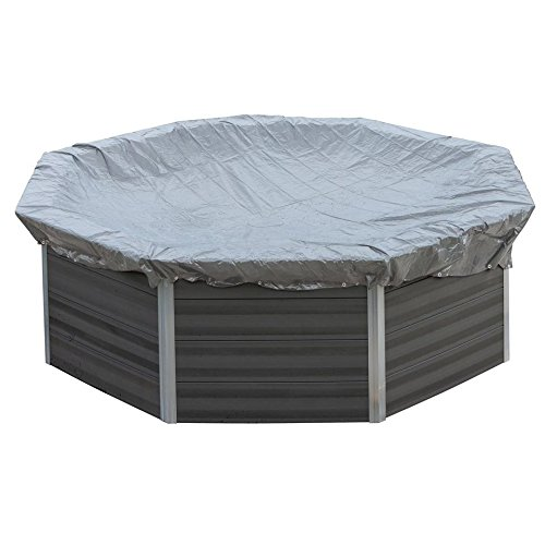 Cubierta de invierno piscina ovalada Composite 580 g/m²