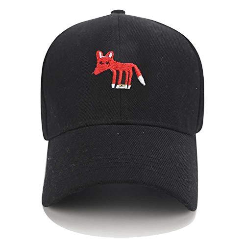 YPORE Snapback Trucker Caps Fox Dad Hats for Men Baseball Cap Women Animal Cartoon Embroidery Adjustable Casual Hip Hop Summer Sun Hat -
