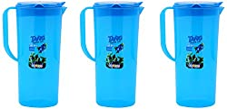 aarohi13 Jug, 3-Piece, 1.5 Liters, Blue (Set Of 3_Jug_Blue)