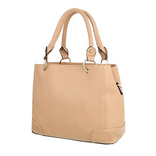 Taschen Handtasche Apricot