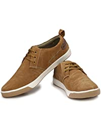 SKlodge Men's Blue And Tan Casual Canvas Sneaker Shoes , Casual Shoes Man , Canvas Shoes For Mens Stylish , Sneakers...