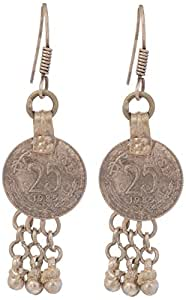 Pavitra Collection Tribal Collection Copper Earrings for Women