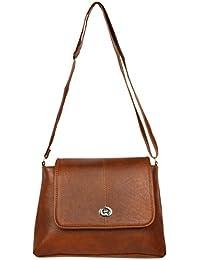 Sling Bags for Girls Trendz (Brown, 99)