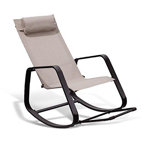 YIXINY Deckchair MLC01 Stoff + Ferrolegierung Es Gibt Kissen Multifunktion Kann Montage...