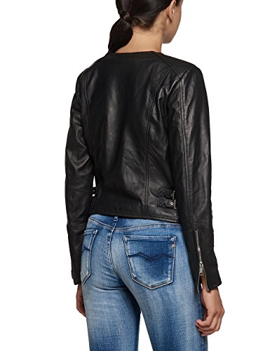 Replay Damen Jacke Schwarz (BLACK 10)