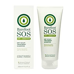 barefoot botanicals sos intensive care shampoing pour cuir chevelu sec 200 ml. Black Bedroom Furniture Sets. Home Design Ideas