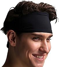 SKUDGEAR Premium Sweat Absorbent Headband for Men