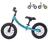 Banana Bike GT - Bicicletta da Equilibrio Senza Pedali per Bambini - 2, 3, 4 e 5 anni di età (Blu Metallico)