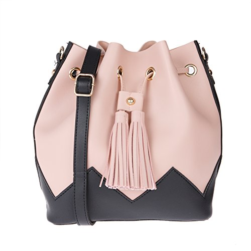 7526bcd0d2db Buy Fur Jaden Pink Bucket Sling Bag for Women on Amazon | PaisaWapas.com