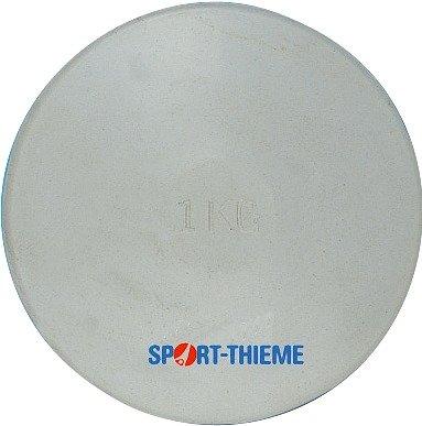 Sport-Thieme Übungs-Diskus aus Gummi 1,5 kg